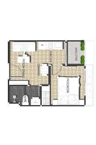 Arcadia Center Suites -27-sqm-1-Bed