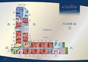 Arcadia Millennium Tower - 26th Floor
