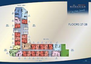Arcadia Millennium Tower - Floors 27-28