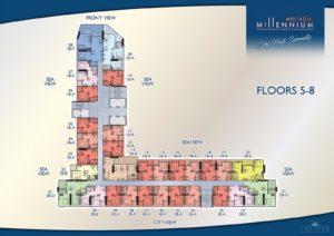 Arcadia Millennium Tower - Floors 5-8