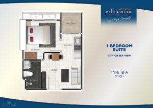 1 Bedroom Suite (1B-A)