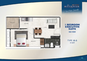 1 Bedroom Executive Suite