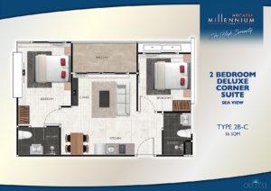 2 Bedroom Deluxe Corner Suite