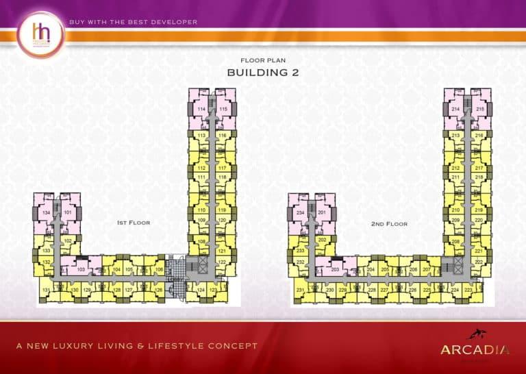 Building B Floor 1-2