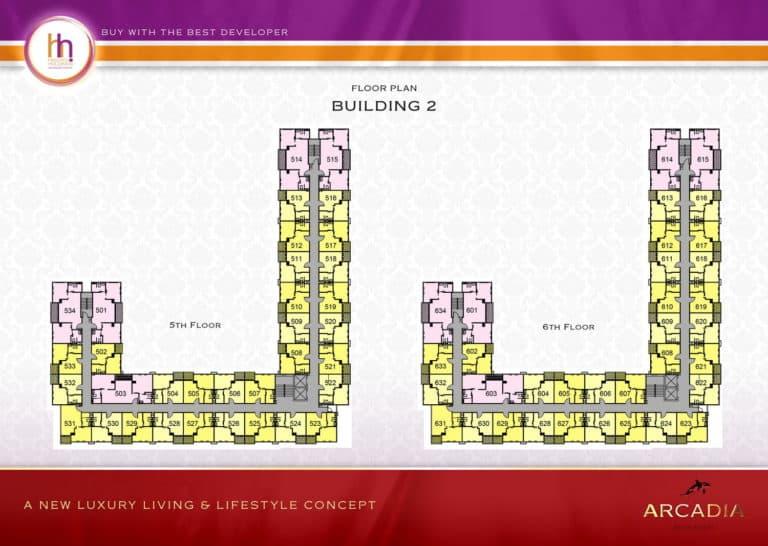 Building B Floor 5-6