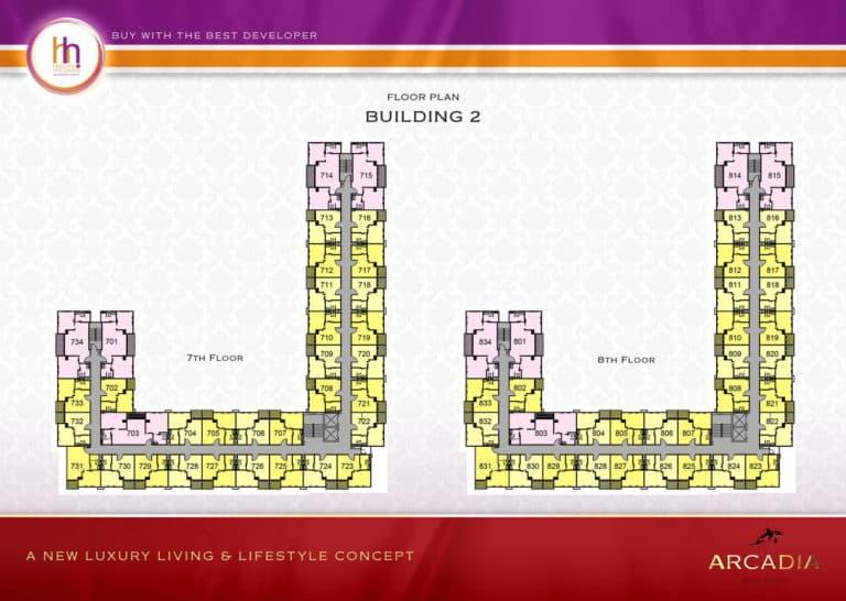 Building B Floor 7-8