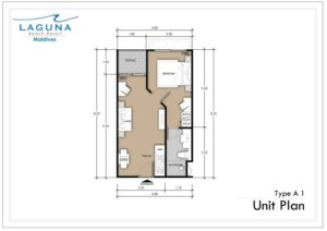 1 Bedroom 37.5 SQM