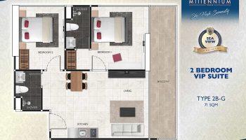 2 Bedroom VIP Suite